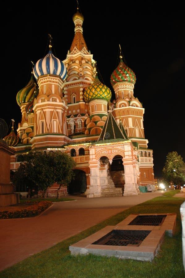 Catedral de la albahaca del St fotos de archivo