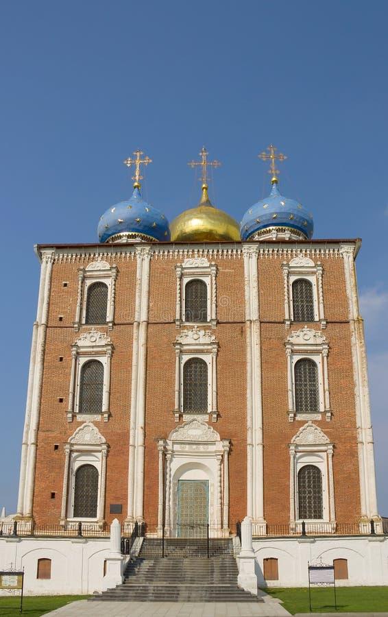Catedral de la asunción de Ryazan Kremlin, Rusia imagen de archivo