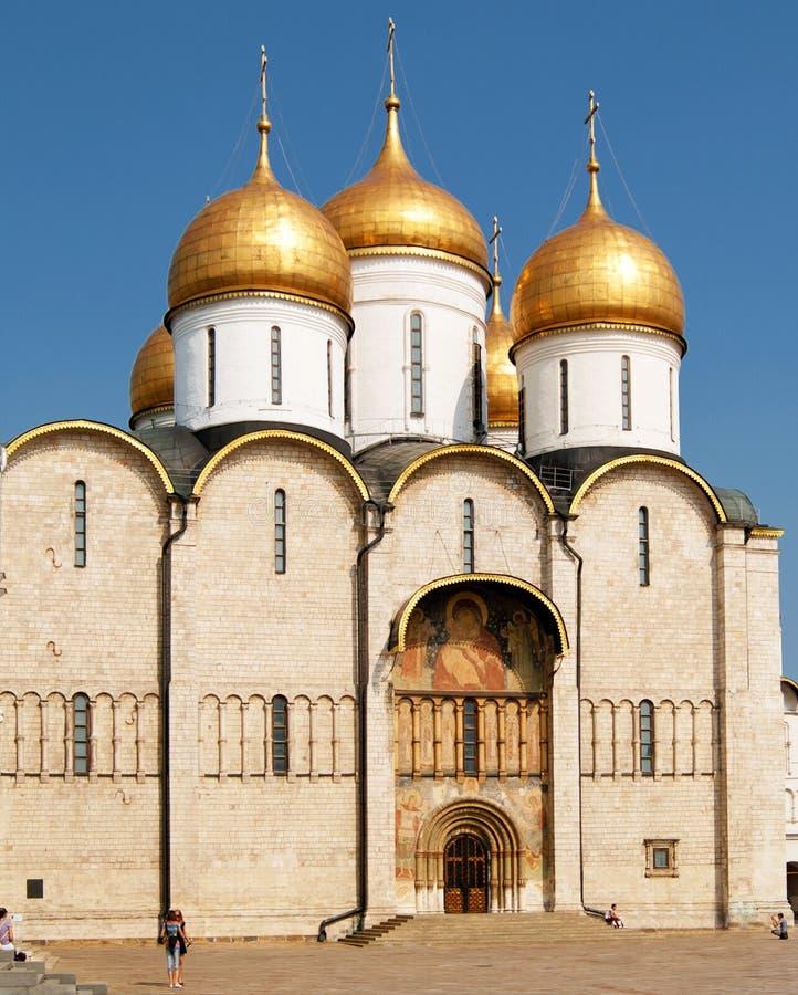 Catedral de la asunción en Moscú fotos de archivo libres de regalías