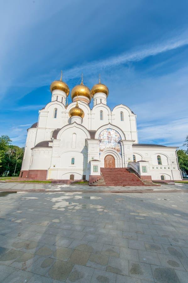 Download Catedral De La Asunción En Yaroslavl Imagen de archivo - Imagen de verano, hermoso: 64213205