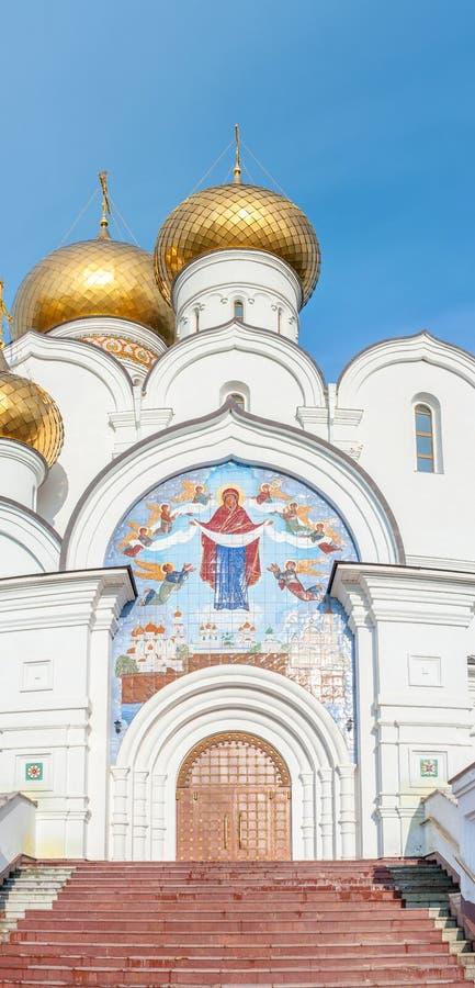 Download Catedral De La Asunción En Yaroslavl Imagen de archivo - Imagen de viejo, religión: 64213361