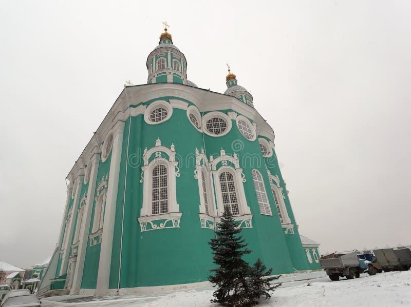 Catedral de la asunción. Smolensk. Rusia. fotos de archivo