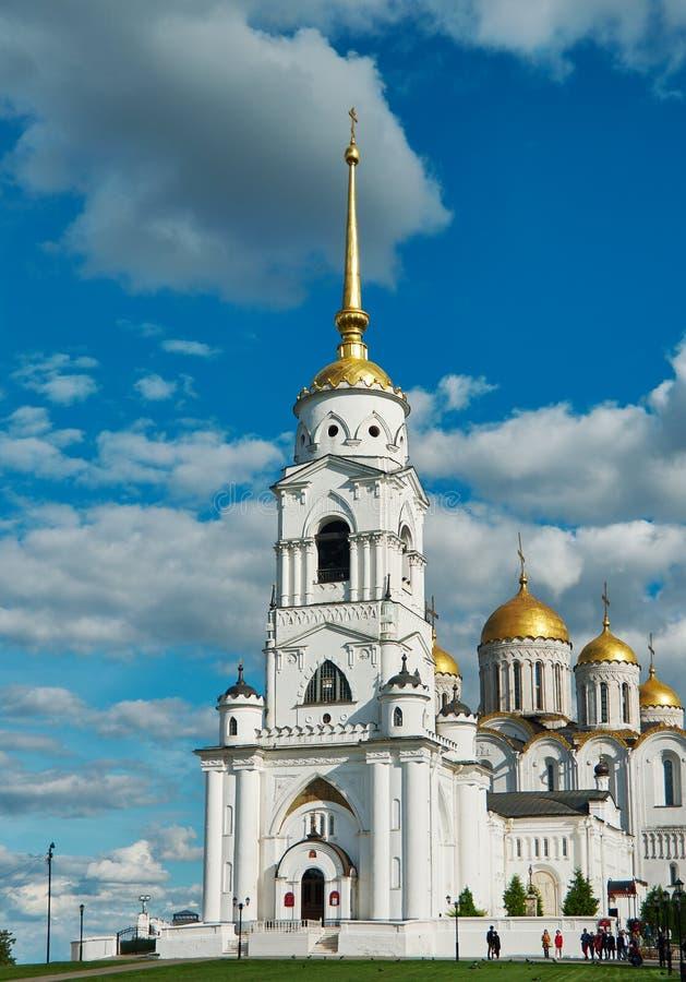 Catedral de la asunción Vladimir, fotografía de archivo libre de regalías