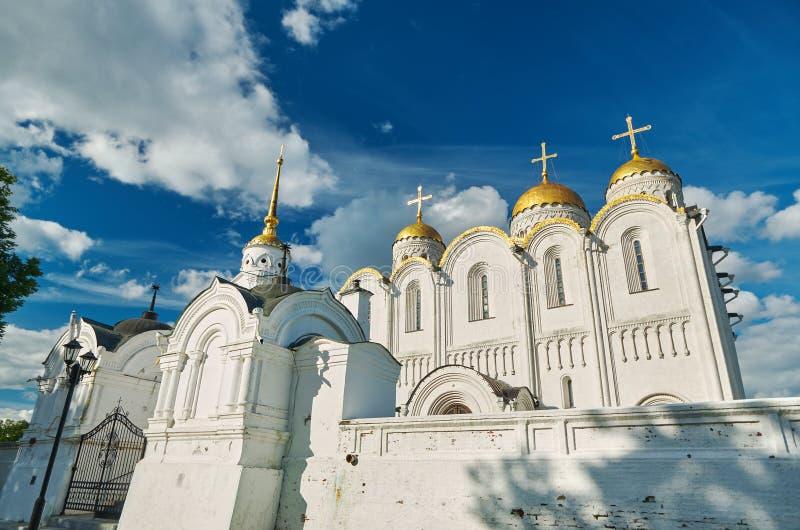 Catedral de la asunción Vladimir, imagen de archivo