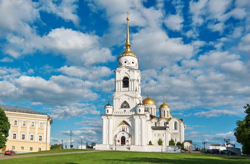 Catedral de la asunción Vladimir, fotografía de archivo