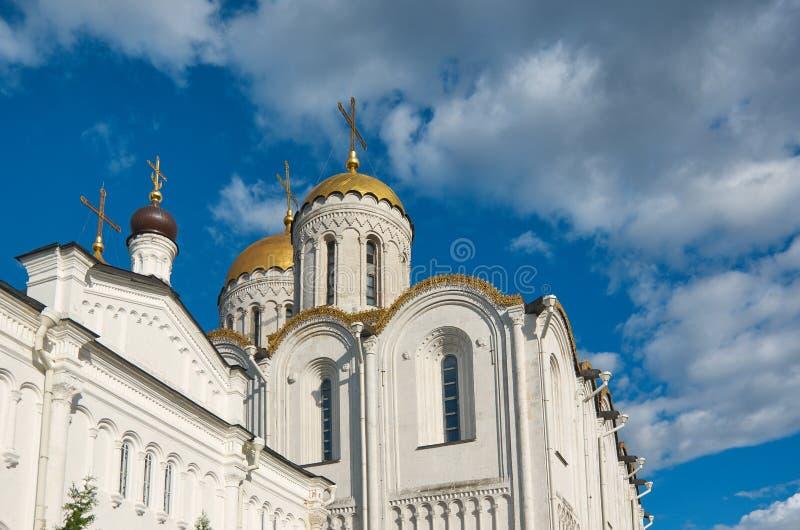 Catedral de la asunción Vladimir, fotos de archivo