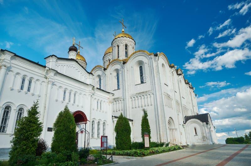 Catedral de la asunción Vladimir, imágenes de archivo libres de regalías