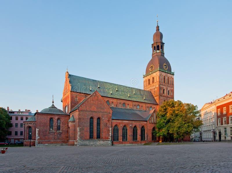 Catedral de la bóveda de Riga imagen de archivo