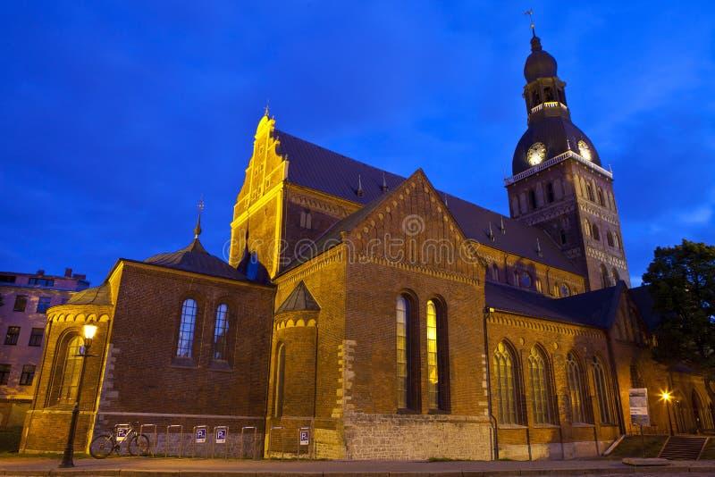 Catedral de la bóveda de Riga fotografía de archivo libre de regalías