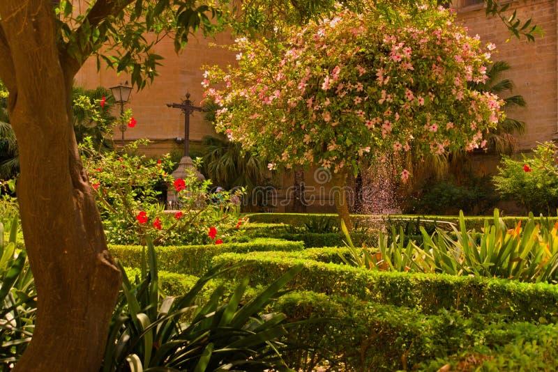 Catedral de la Encarnación on Málaga stock photo