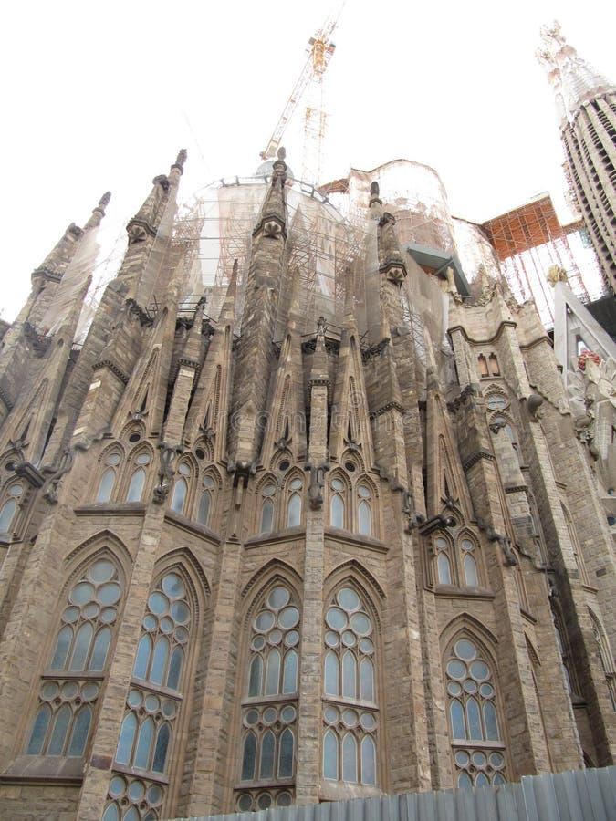 Catedral de la familia del santo imágenes de archivo libres de regalías