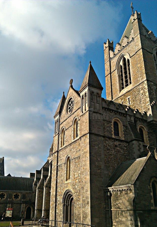 Catedral de la iglesia de Cristo de Dublín fotografía de archivo