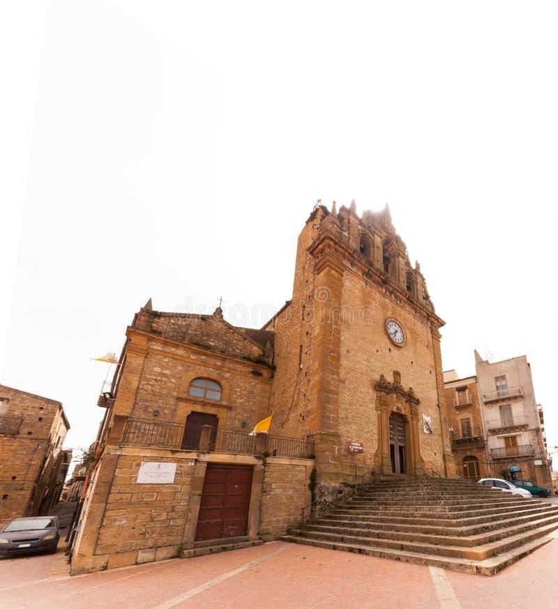 Catedral de la plaza Armerina fotografía de archivo