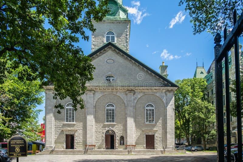 Catedral de la trinidad santa imagen de archivo libre de regalías