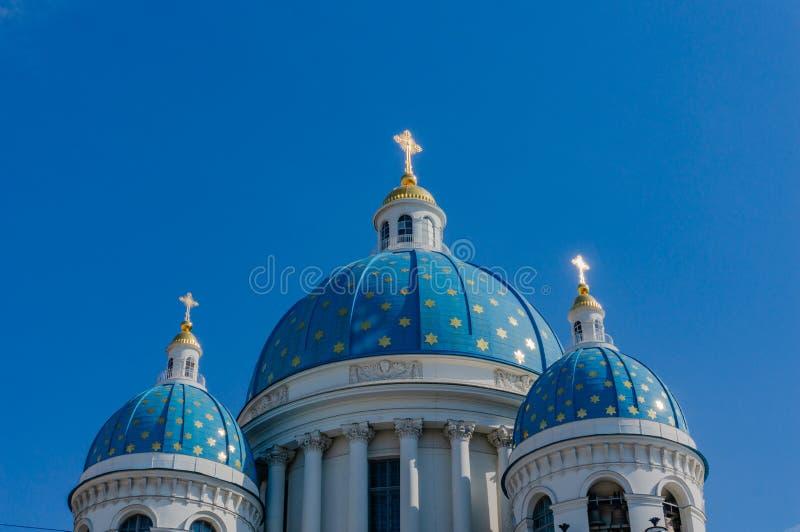 Catedral de la trinidad, St Petersburg en St Petersburg fotos de archivo libres de regalías
