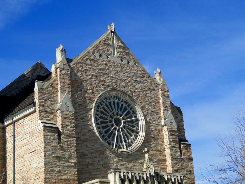 Catedral de las montañas rocosas - Boise, Idaho foto de archivo libre de regalías