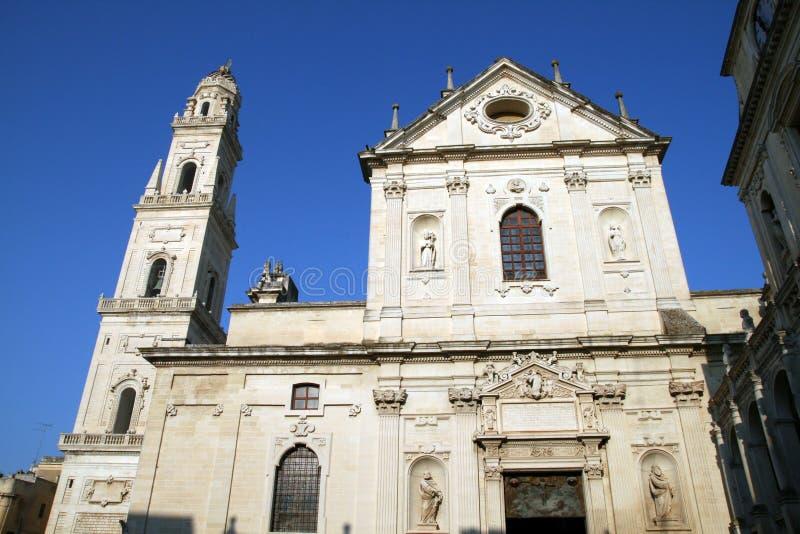 Catedral de Lecce fotos de stock
