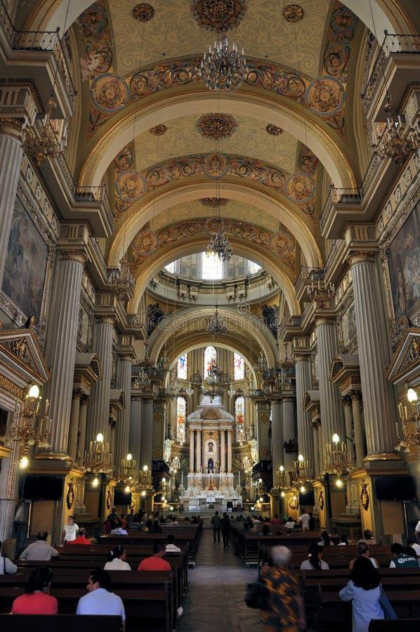 Catedral de Leon México fotografia de stock royalty free