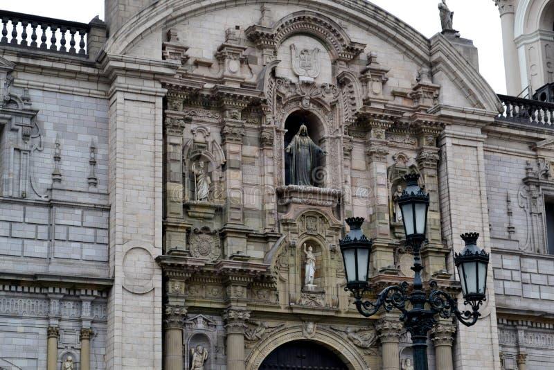 Catedral de Lima - catedral de Lima foto de stock royalty free