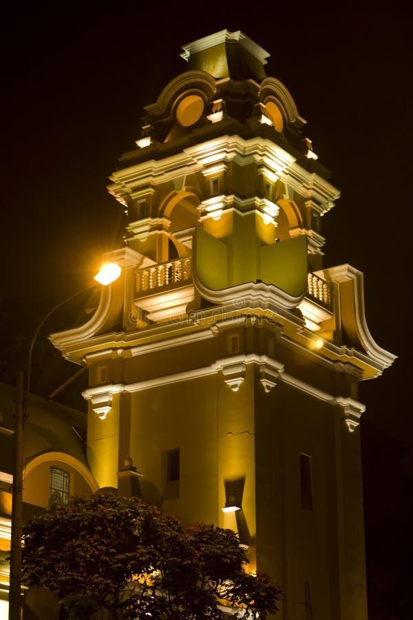 Catedral de Lima, Perú imagen de archivo