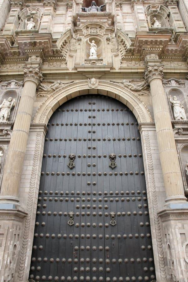 Catedral de Lima - Perú fotografía de archivo libre de regalías