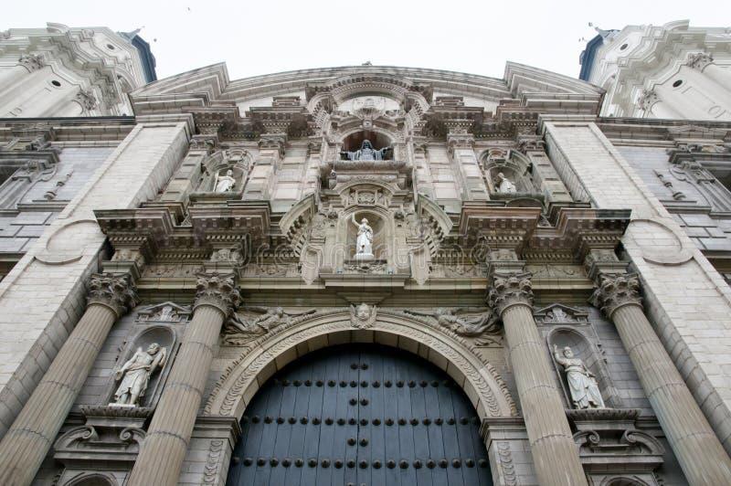 Catedral de Lima - Perú foto de archivo libre de regalías