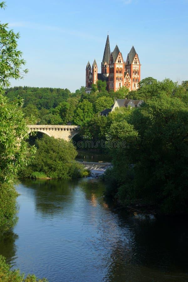 Catedral de Limburgo imagem de stock