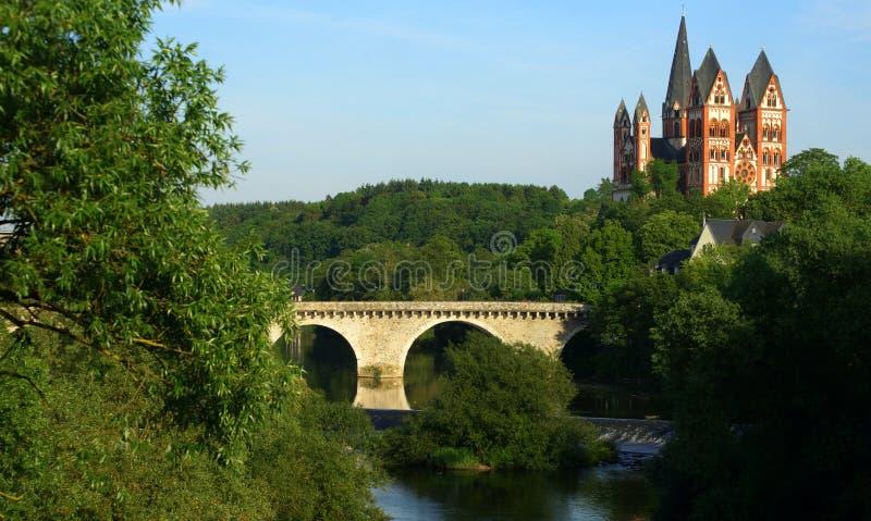 Catedral de Limburgo imagem de stock royalty free