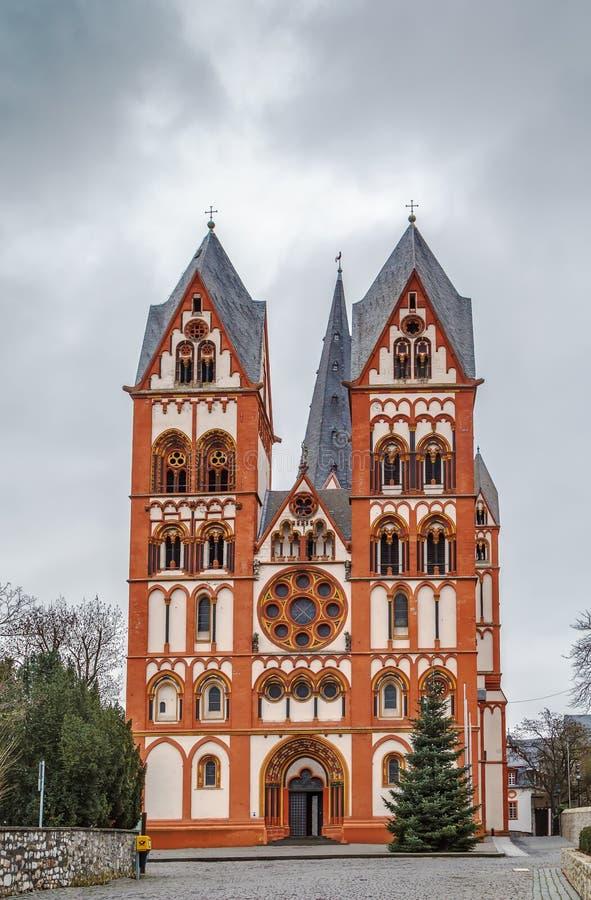 Catedral de Limburgo, Alemania imagen de archivo