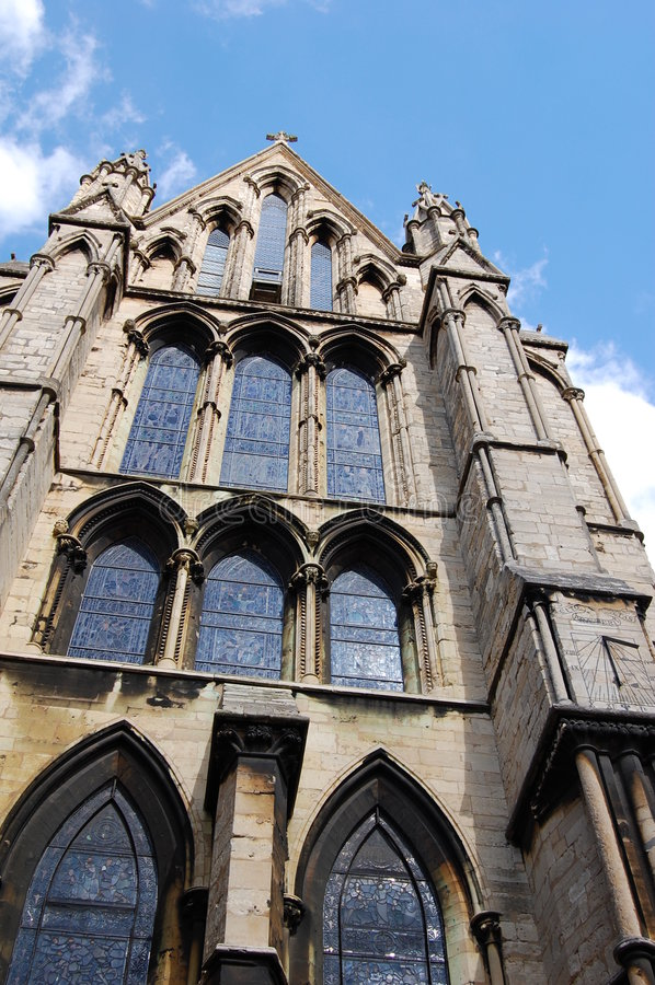 Catedral de Lincoln imagens de stock royalty free