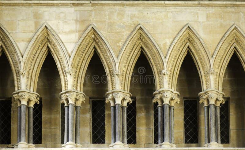 Catedral de lincoln da colunata fotos de stock royalty free