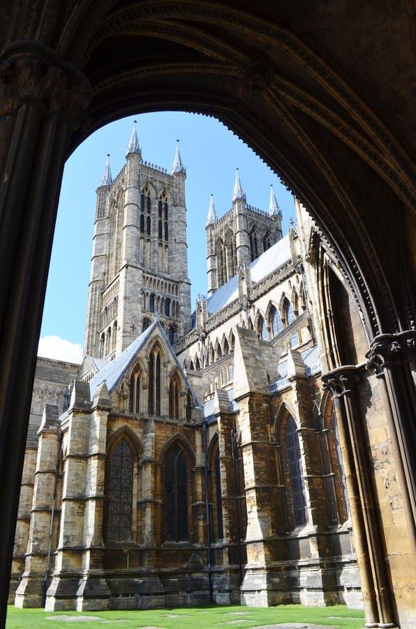 Catedral de Lincoln, Inglaterra fotos de archivo libres de regalías