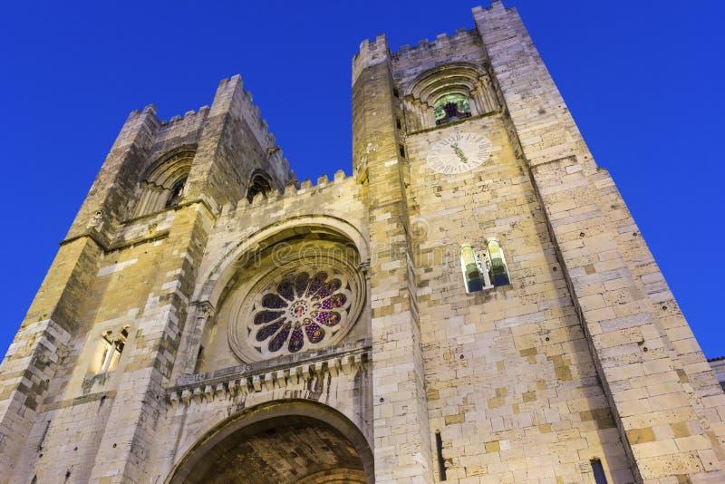 Catedral de Lisboa foto de stock royalty free