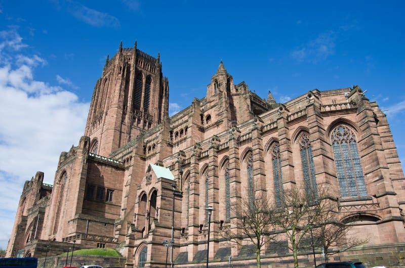 Catedral de Liverpool fotografía de archivo libre de regalías