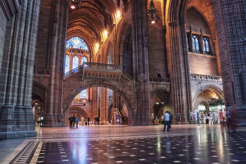 Catedral de Liverpool fotos de archivo