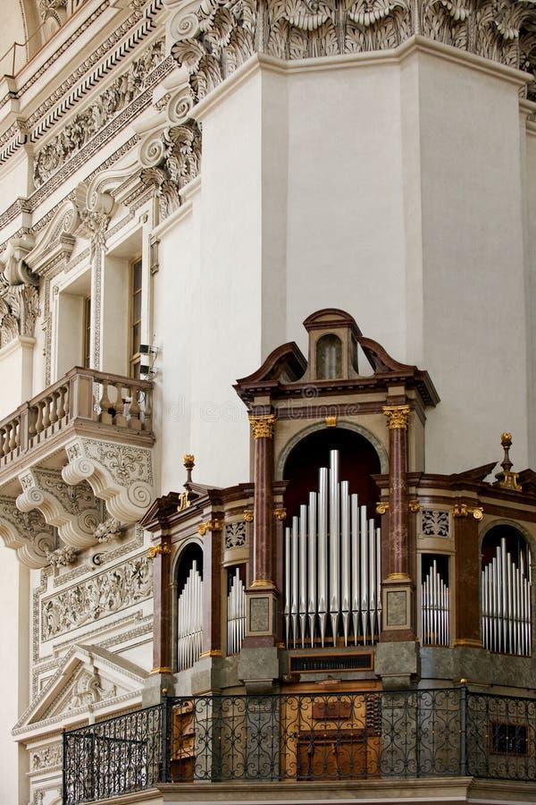 Catedral de los Dom de Salzburger fotos de archivo