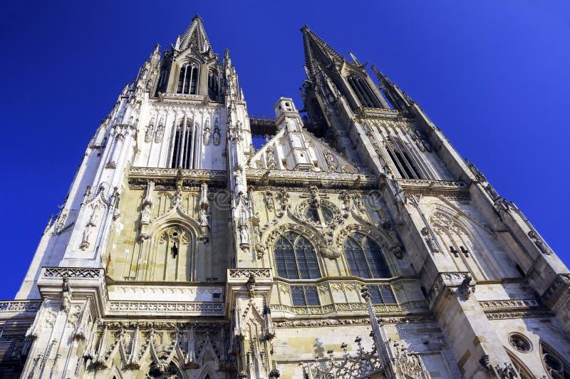 Catedral de los Dom, Regensburg imagenes de archivo