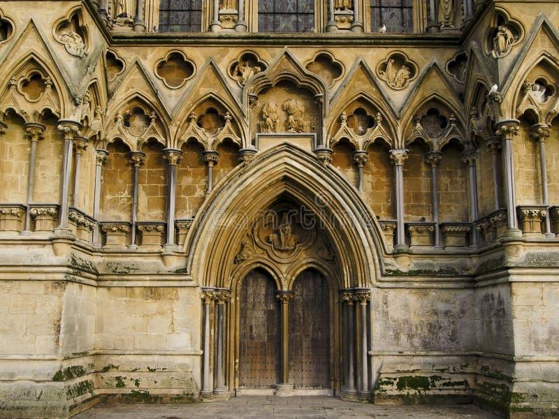 Catedral de los receptores de papel imagenes de archivo