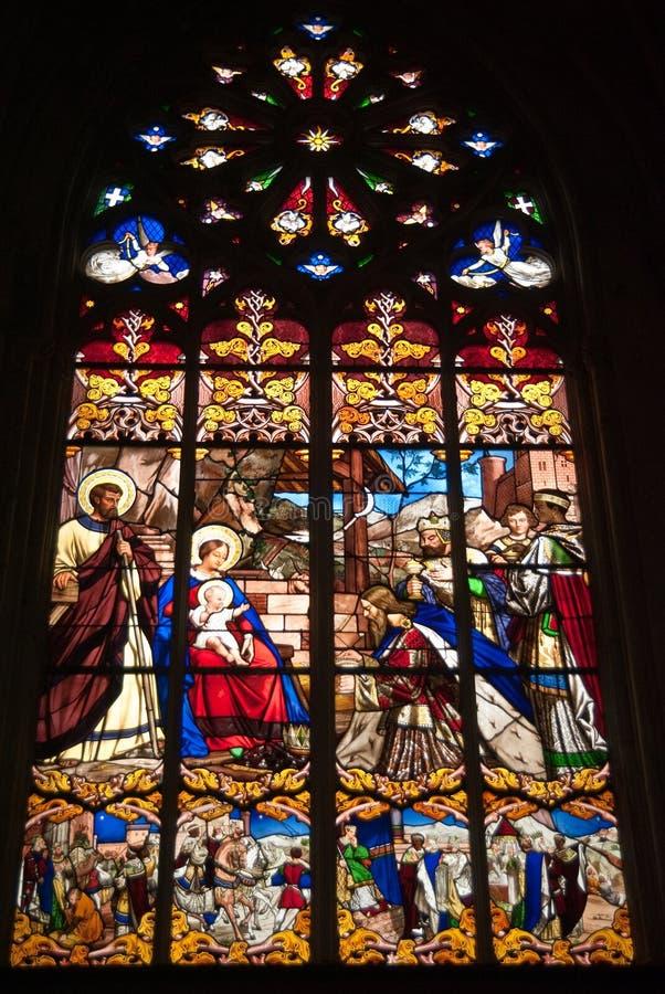 Catedral De Los Viajes Esmaltada Imagen de archivo