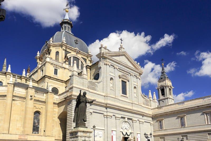 Catedral de Madryt 03 zdjęcie stock