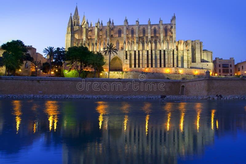 Catedral de Majorca en Palma de Mallorca foto de archivo libre de regalías