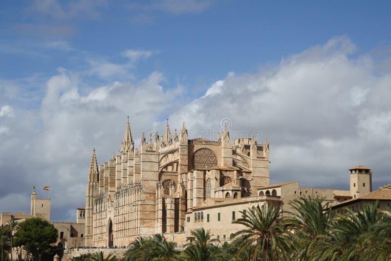 Catedral de Mallorca fotografia stock
