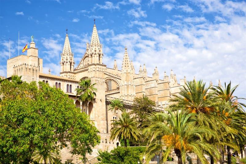 Catedral DE Mallorca stock foto's