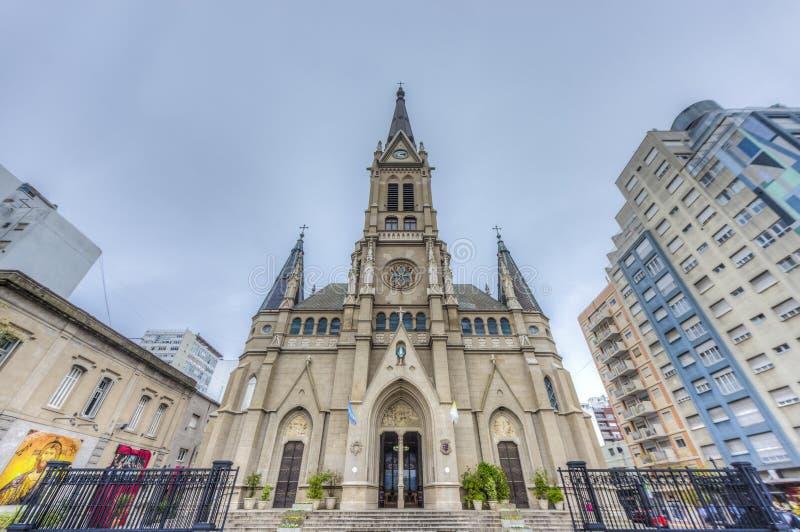 A catedral de Mar del Plata, Buenos Aires, Argentina fotografia de stock