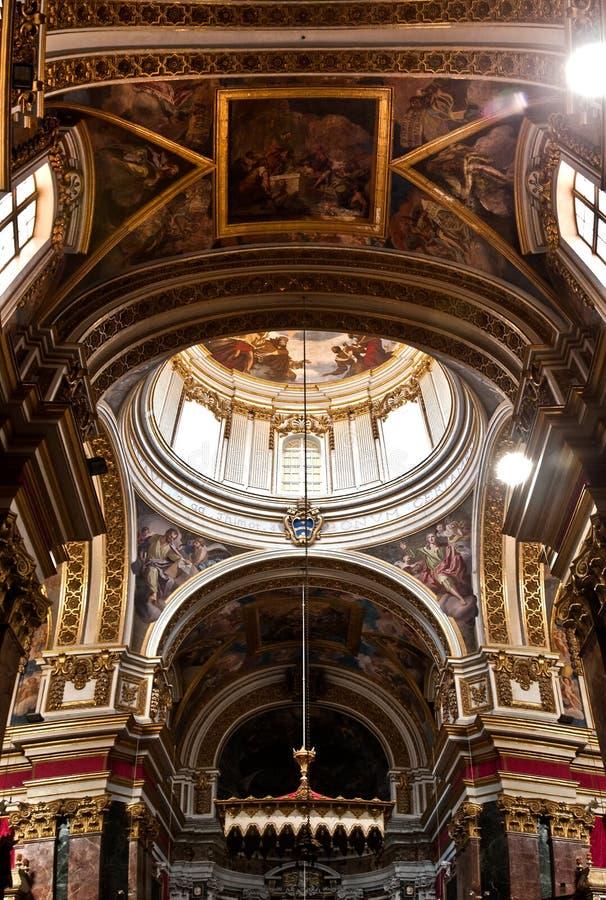 Catedral de Mdina fotografía de archivo