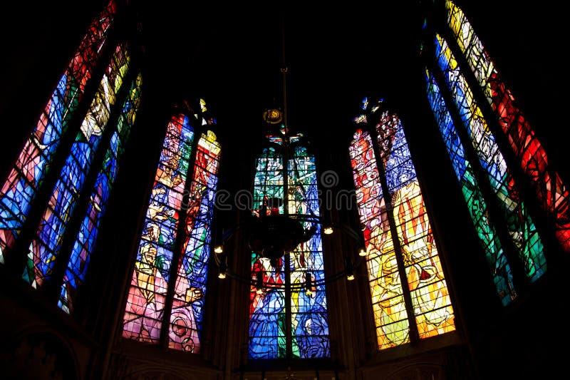 Catedral de Metz fotos de archivo