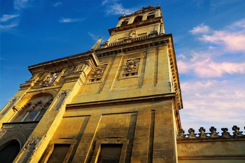 Catedral de Mezquita en un día soleado brillante en el corazón del histo fotos de archivo libres de regalías