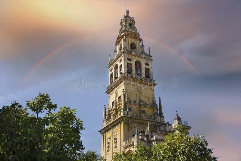 Catedral de Mezquita en un día soleado brillante en el corazón del histo foto de archivo libre de regalías