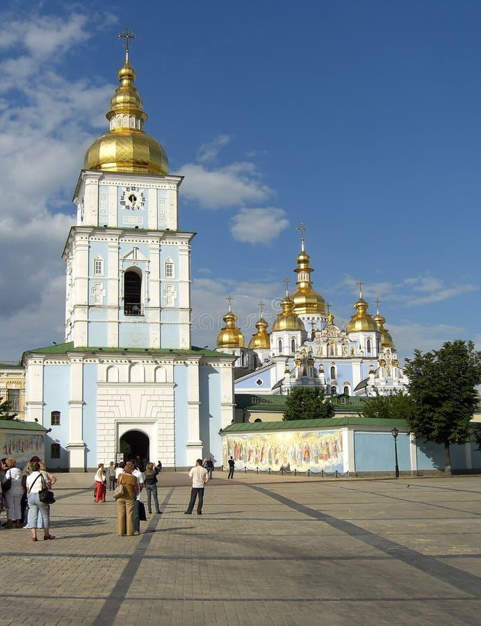 Catedral de Michaels de Saint com torre de sino fotografia de stock royalty free