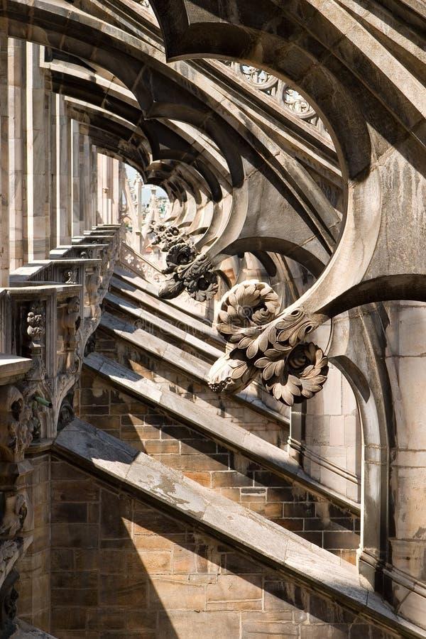 Catedral de Milano - Duomo imagen de archivo libre de regalías